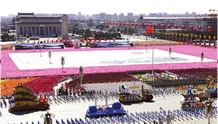60周年國慶巨幅畫卷軸《江山如此多嬌》 - 副本.JPG